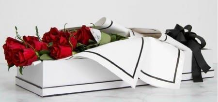 Red Rose Valentines Box