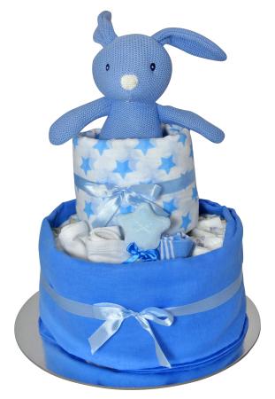 Bunny cake (blue)
