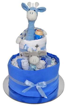 Giraffe Cake (blue)