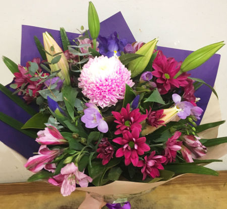 Purple Splash Bouquet