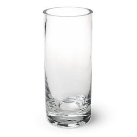 A Glass Cylinder Vase 28cm x 12cm