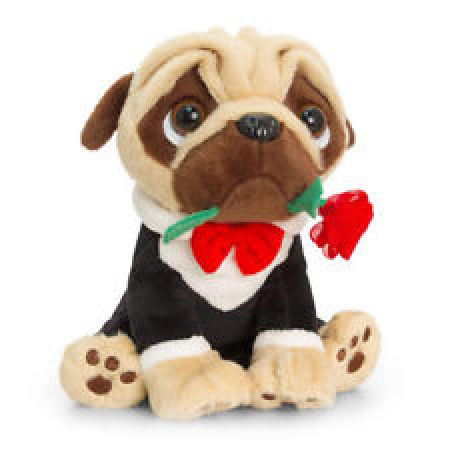 Pugsley. The Pug Soft Toy